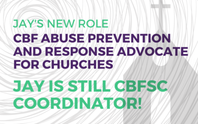 Jay is CBF's point person for abuse prevention