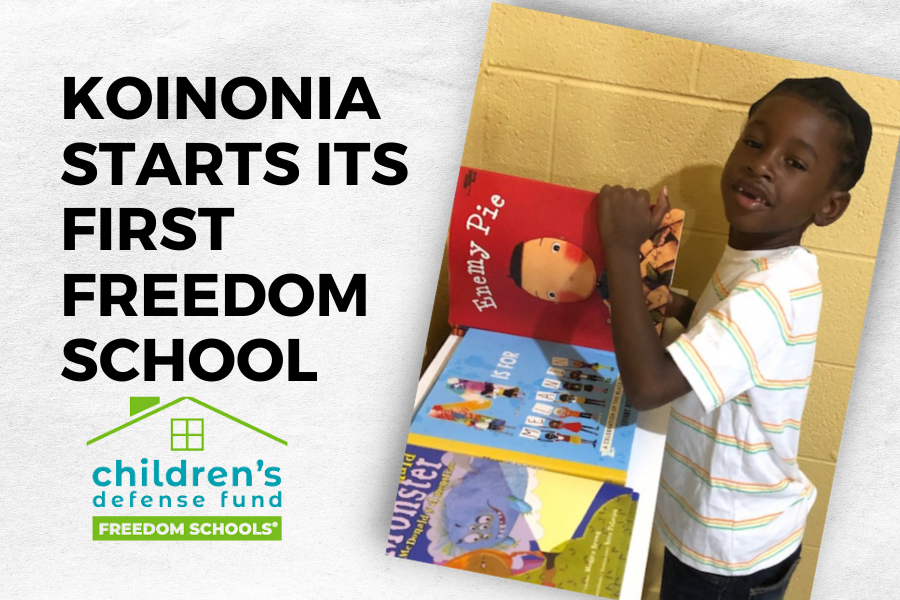 First Freedom School at Koinonia starts today